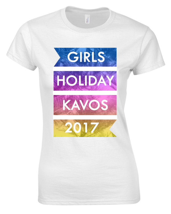 Palm Tree Holiday | Girls Holiday | Group T-Shirts