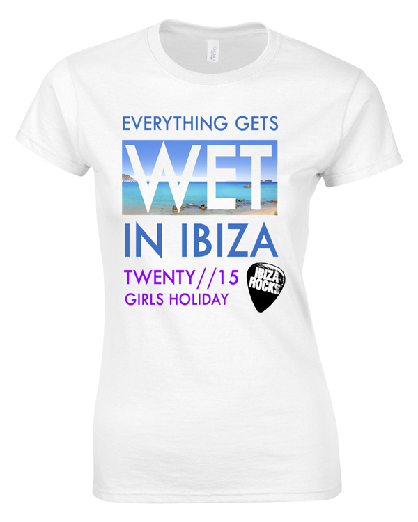Wet Holiday | Girls Holiday | Group T-Shirts