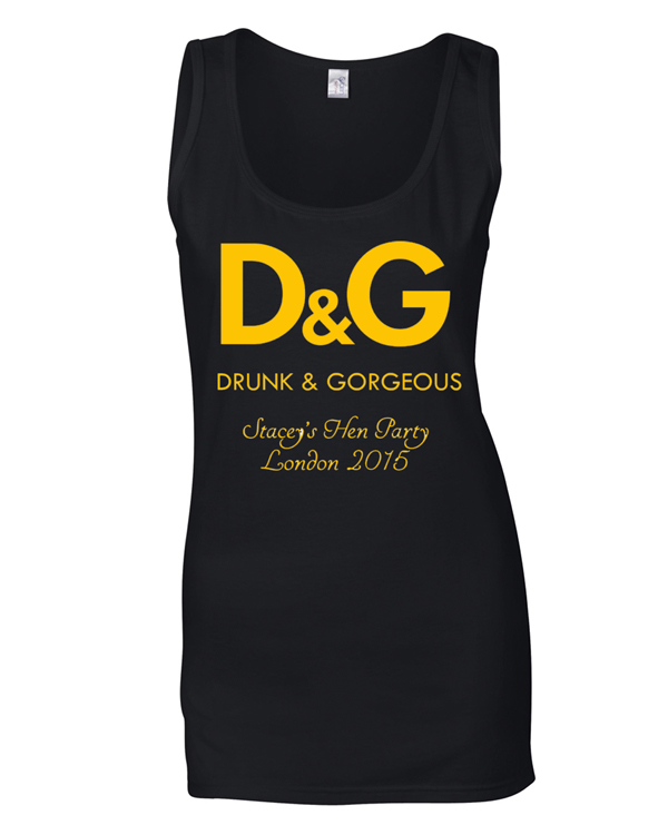 D & G | Hen Party | Group T-Shirts