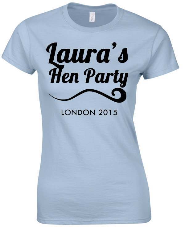 Simple Hen Tee | Hen Party | Group T-Shirts