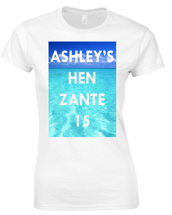 Water Hen | Hen Party | Group T-Shirts