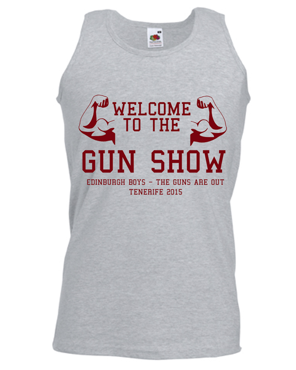 Gun Show Holiday | Lads Holiday | Group T-Shirts