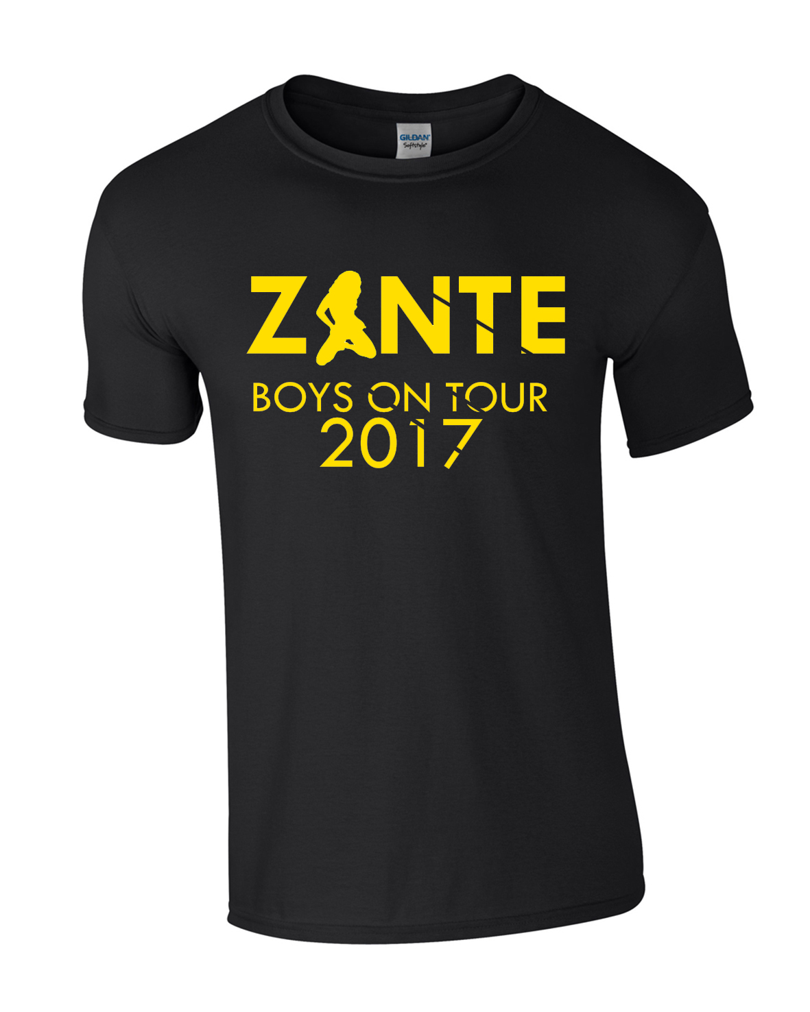 Kneeling Zante Girl Holiday | Lads Holiday | Group T-Shirts