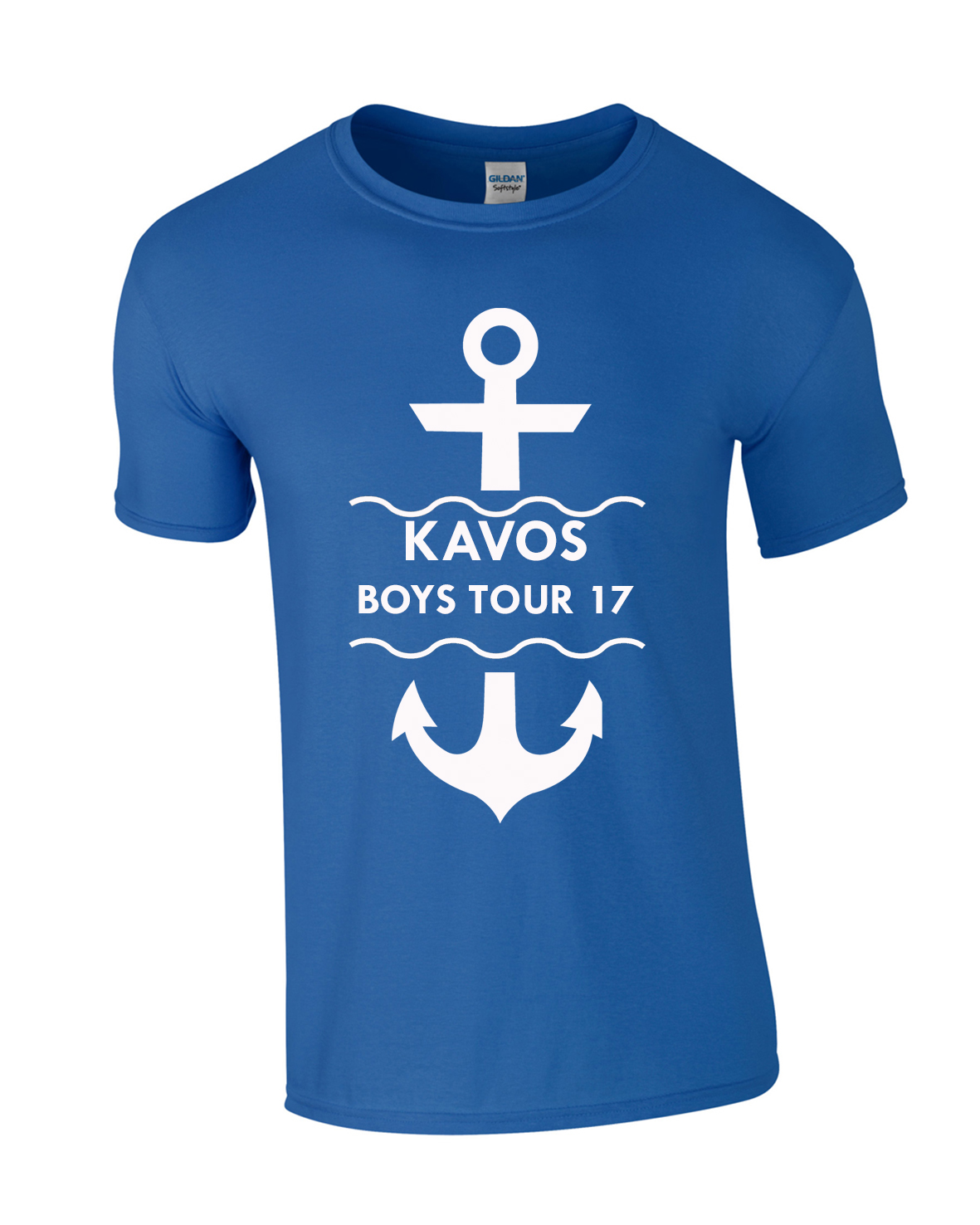 Anchor Holiday | Lads Holiday | Group T-Shirts