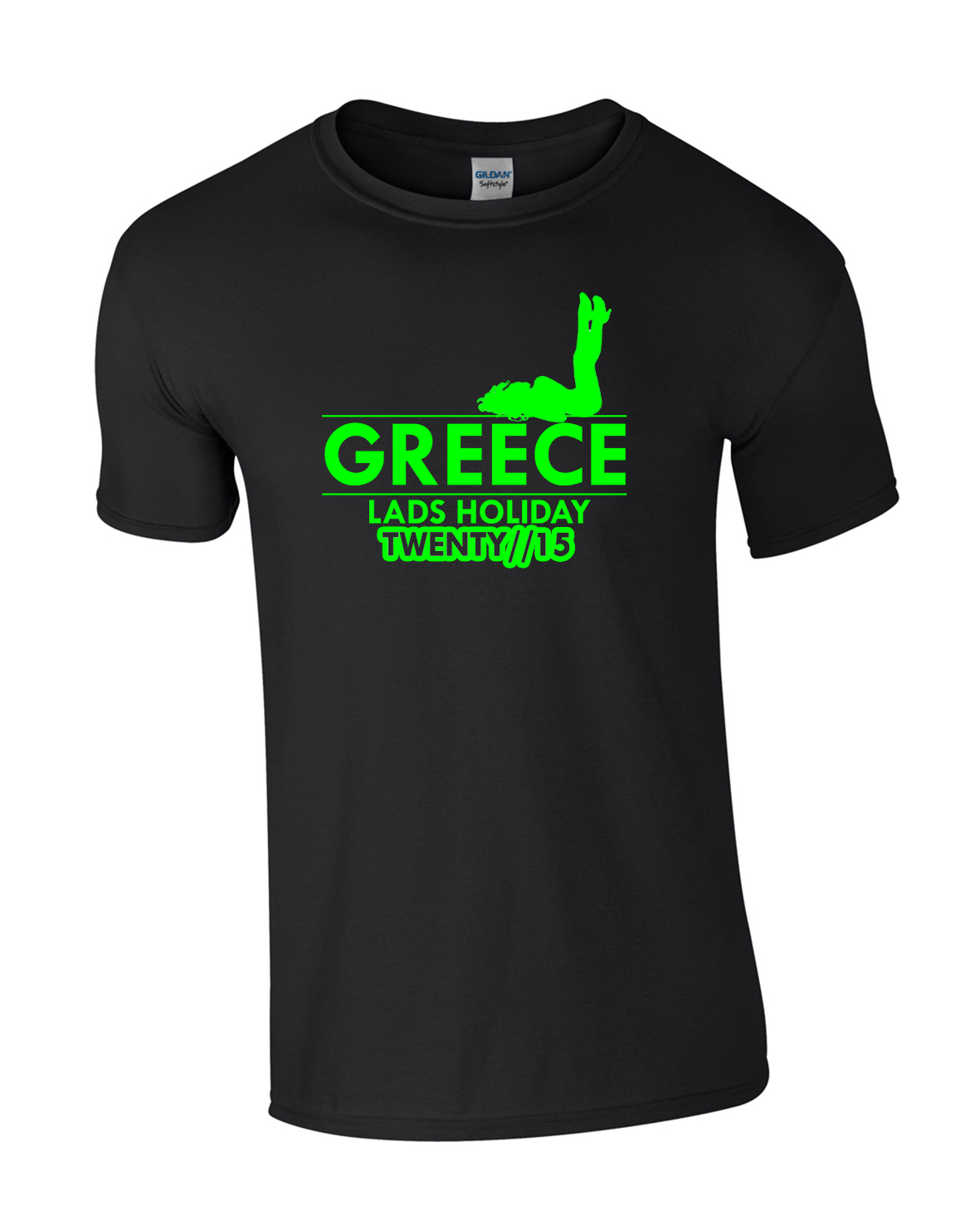 Lying Girl Greece Holiday | Lads Holiday | Group T-Shirts
