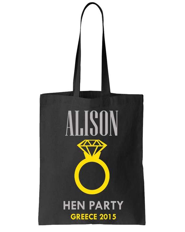 Ring Tote Bags Image