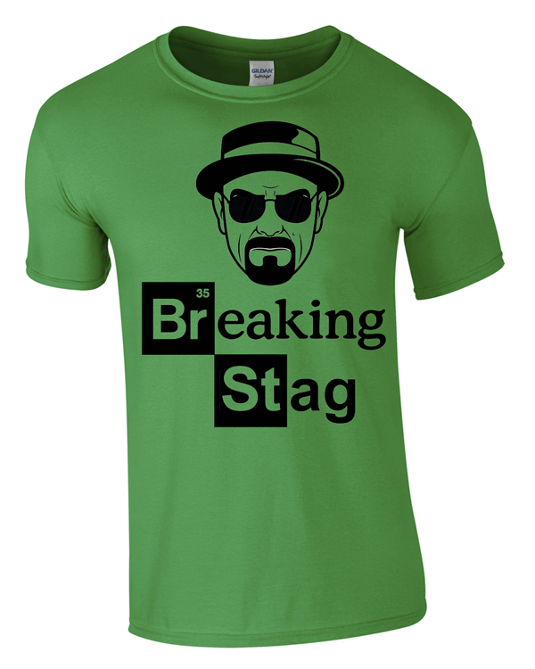 Breaking Stag | Stag  Party | Group T-Shirts