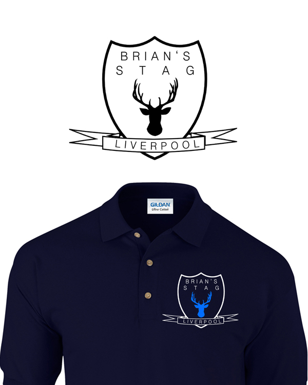 Left Chest Sheild | Stag  Party | Group T-Shirts