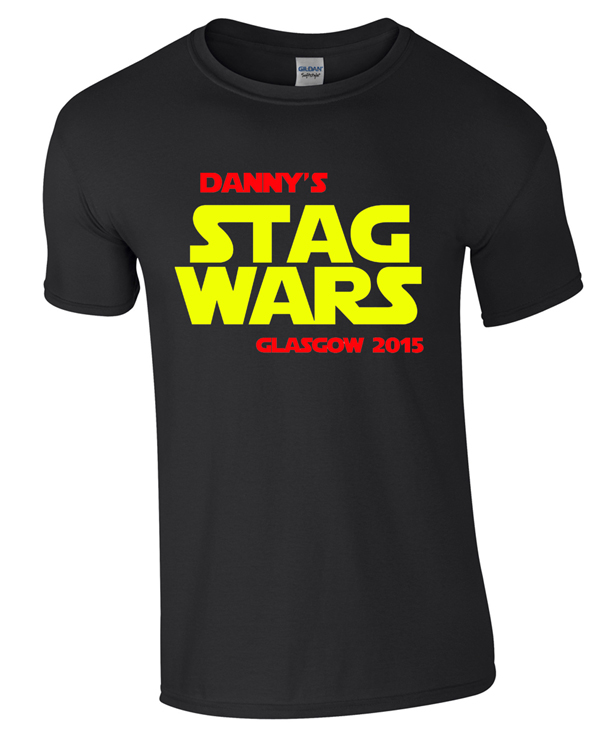 Stag Wars | Stag  Party | Group T-Shirts