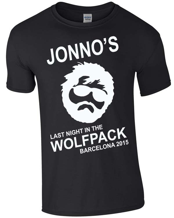 Wolfpack | Stag  Party | Group T-Shirts